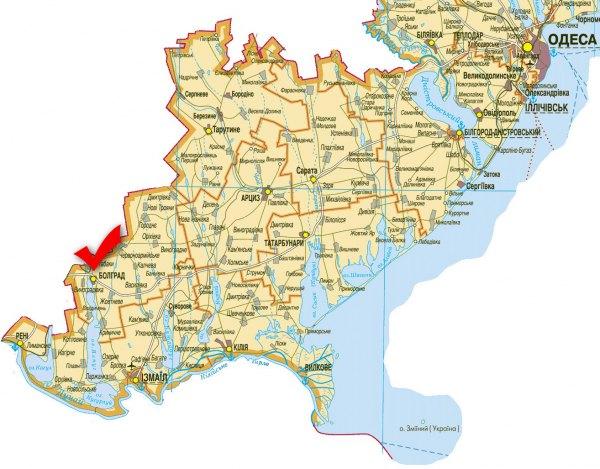 задолго где находится город болград в украине поиск