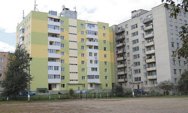 Луцьк, термомодернізовані будинки